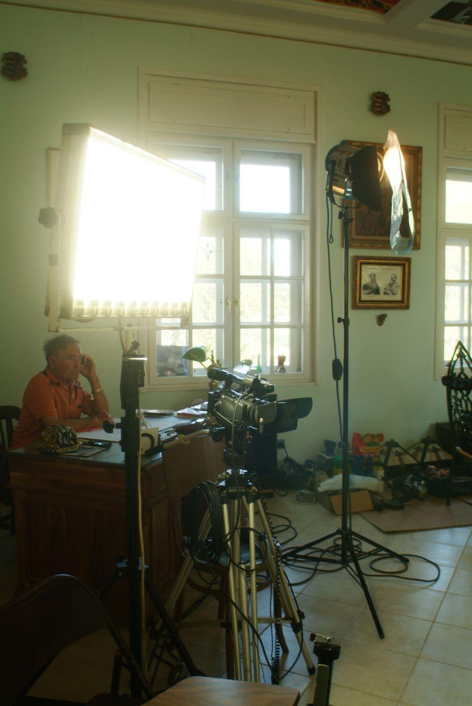 Czene-Ferenc-forgatási-werkfotó-2011