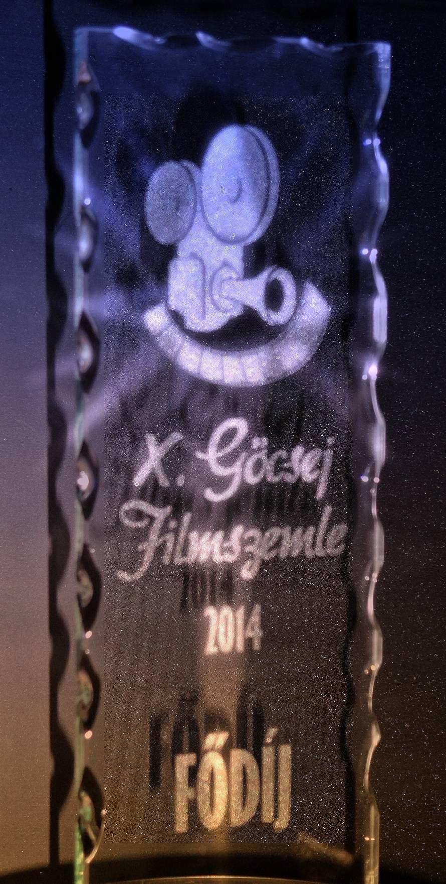 Varga Árpád Zsolt 2014 Göcsej Filmszemle Fődíj