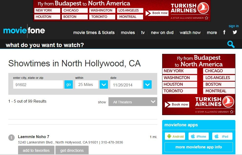 Hollywoodban ezen az oldalon is megjelent a Máriás Film vetítése a NOHO 7 Programban